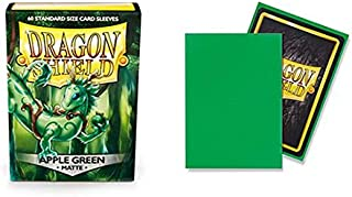 Dragon Shield Matte 60 ct Apple Green Standard Size Card Sleeves Individual Pack