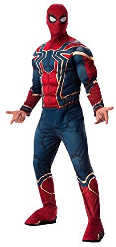 Rubies Disfraz Oficial de Los Vengadores Iron Spider, Spiderman Deluxe para Hombre Adulto