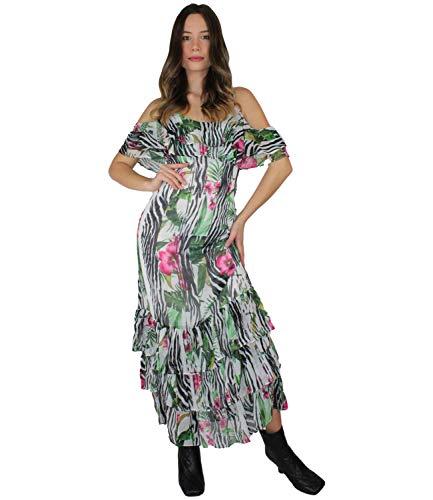 Guess Abito Donna Agathe Dress Multicolore ES21GU89 W1GK1FWDW52 L