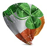 Sherly Yard Bonnet Beanie Classique plissé,Thème Irish Green Clover Patrick,Bonnet Beanie Long,Unisexe