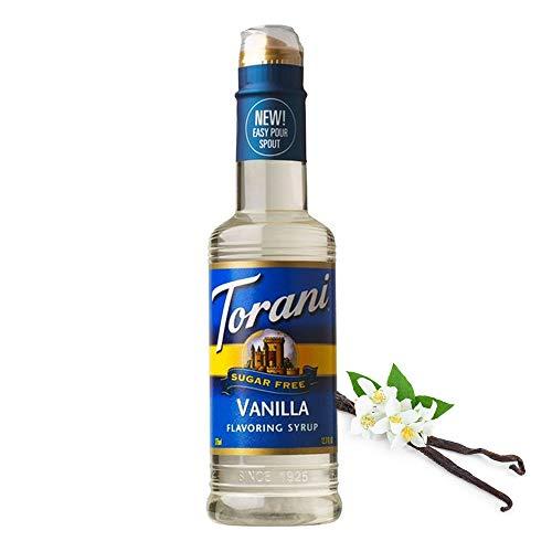 Torani Sugar Free Vanilla Syrup with Splenda, 375 ml
