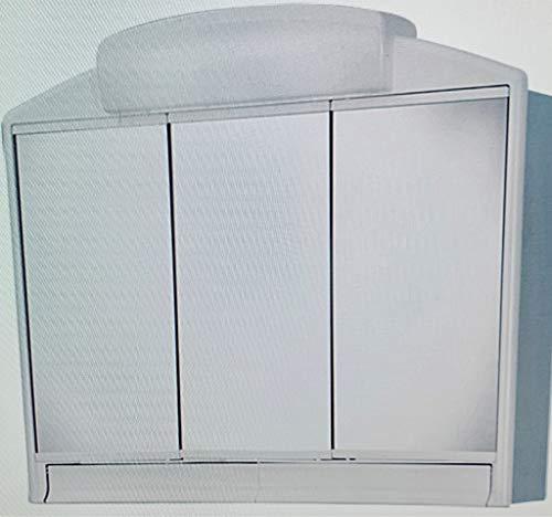 Jokey Spiegelschrank Rano weiß mit Voltolux LED-Leuchtmittel Birne inklusive