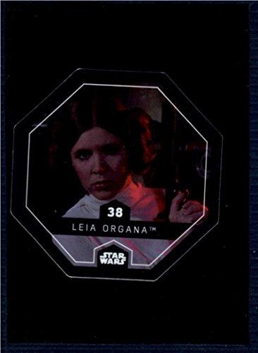 2017 Winn Dixie Star Wars Cosmic Shells #38 Leia Organa