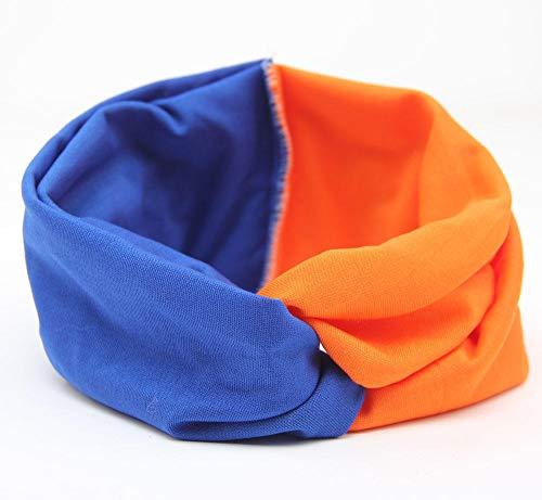 Feizhai Knit Headband Crochet Top Knot Elástico Turbante Hairband Baby Girl Head...