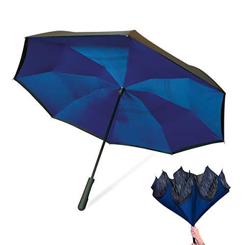 Wonderdry Umbrella 2018 Regenschirm, 78 cm, Blau (Azul)