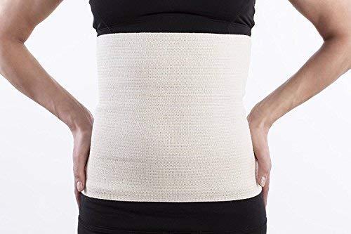 Lauftex, Nierenwärmer Angora & Merino Wolle - für Damen und Herren. Unisex Rückenwärmer und Leibwärmer (M)