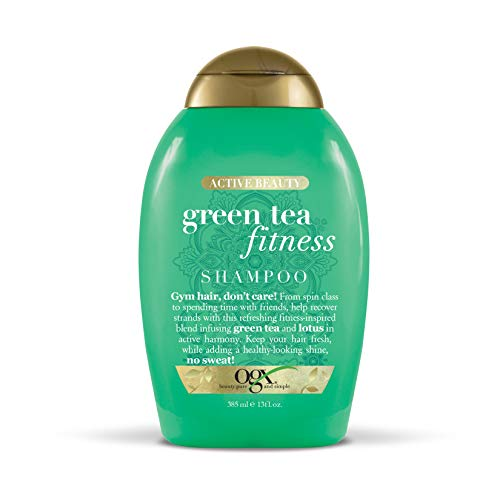 OGX Active Beauty Green Tea Fitness Shampoo, 13 Ounce