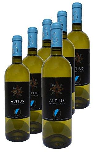 Mesimvria Wines griechischer Weißwein   Roditis & Sauvignon Blanc   trocken   Jahrgang 2015   6x 750 ml