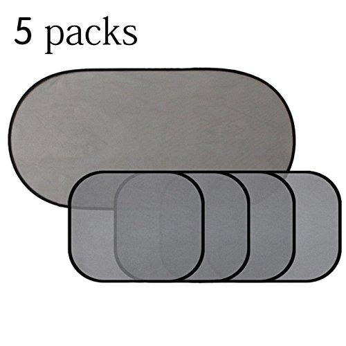 (5 Packs) Car Window Shade for Side and Rear Window – Masatow Car Sun Shades...