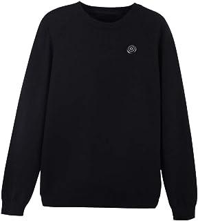 ZHANGLI Heated Shirt - Smart Heating Knitted Shirt - Winter USB Powered Skiing Safe Electric Warm Hiking Heated Shirt for ...