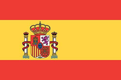KiipFlag - Banderas de todo el mundo, bandera nacional, colores vivos, resistente a la decoloración por rayos ultravioletas, cabecera de lona, doble costura, poliéster, 90 x 150 cm