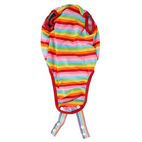 Atyhao Hygienehose für Haustiere, Baumwollmischung Hündinnenwindeln Strap Pet Dog Menstruationshose mit Hosenträger festziehen(XL)
