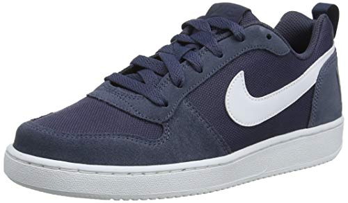 Nike Baby Jungen Court Borough Low Pe (Gs) Basketballschuhe, Blau (Thunder Blue/Thunder Blue/Pale Ivory 400), 38 EU