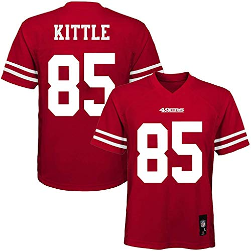 George Kittle San Francisco 49ers #85 Red Kids Home Mid Tier Jersey (5/6)