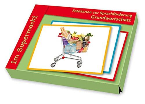 Fotokarten zur Sprachförderung Grundwortschatz: Im Supermarkt