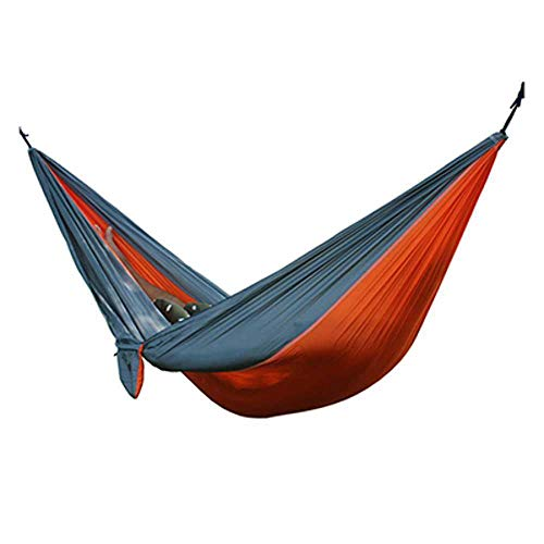 NOBRAND Hiking Camping 270 * 140Cm Hammock Portable Nylon Safety Parachute Hanging Chair Swing Outdoor Double Person Leisure