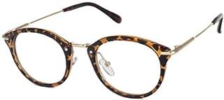 Aiweijia Retro literature glasses frame flat goggles literary fan frame glasses