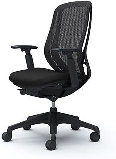 オカムラ オフィスチェア シルフィ― ハイバック メッシュ アジャストアーム 樹脂脚 ブラックフレーム C685XR-FMP1 ブラック