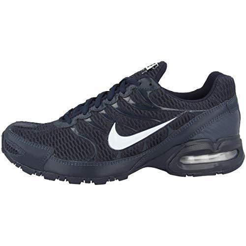 Nike Men's Air Max Torch 4 Running Sneakers (9, Dark Obsidian/White)