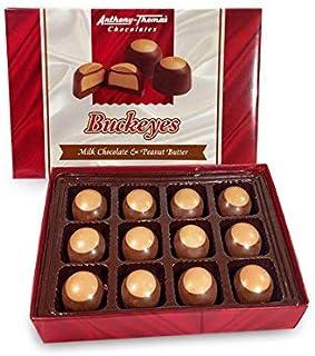 Sponsored Ad - Anthony Thomas, Award Winning Peanut Butter & Milk Chocolate Buckeyes in Regular Box, Deliciously Delightfu...