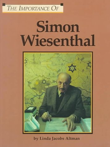 The Importance Of Series - Simon Wiesenthal