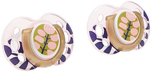 Tommee Tippee 433447 - Ciuccio alla moda, 18-36 mesi, 6 pezzi, colore rosa, 0,135 kg