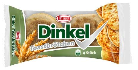 Harry Brot Dinkel Toastbrötchen 10 Packungen a 225g