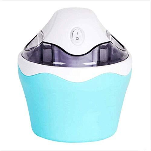 Automatische 1-1/2-Quart-Eiscreme-Maschine, Creme-Hersteller-Maschine Automatic Make Leckeres Eis, Joghurt und Sorbet-Maschine (Farbe: rot) (Farbe: blau) kshu (Color : Blue)