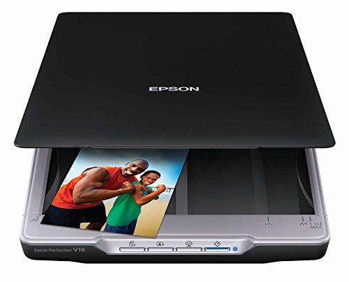 Epson Perfections V19 Photo Scanner (Manufacturer Refurbished) B11B231201-N