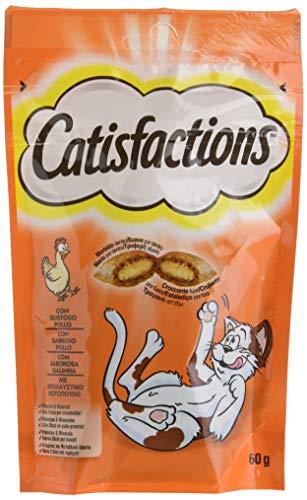 Catisfaction Juego de 6 croquetas de 60 g para Gatos, Multicolor, única