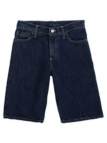 Wrangler Authentics Big Boys' Five Pocket Short, dark rinse 8