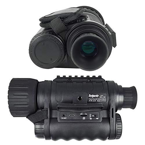 Bestguarder WG-50 6x50mm Digital Night Vision Infrared IR Monocular with Camera & Camcorder...