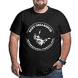 Rory Gallagher Camiseta de Gran tamaño para Hombre Moda Casual Cuello Redondo Camisetas de Manga Corta
