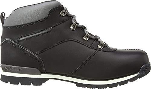 Timberland Timberland Kids Splitrock 2 Euro Hiker Chukka Boots, Schwarz (Black Smooth with Grey), 32 EU