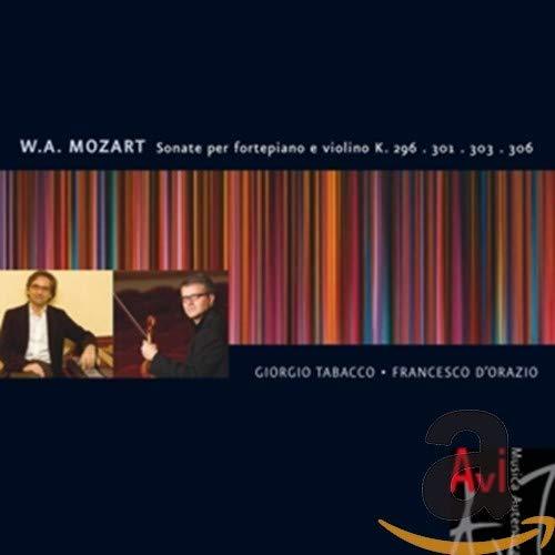Sonatas for Fortepiano & Violin K 296 & 301 & 303