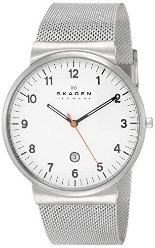 Skagen Analog White Dial Men's Watch