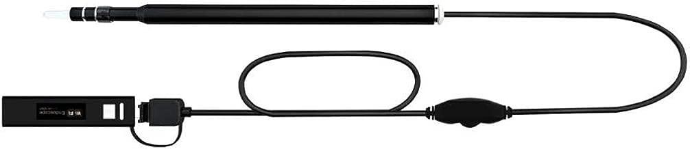 HAJZF C/ámara HD De Otoscopio WiFi De Di/ámetro Ultra Peque/ño De 3.9MM con Endoscopio De Limpieza De Orejas Visual Earpick for Ear Tool Impermeable IP67 Aplicaci/ón Gratuita para Android iOS Amarillo