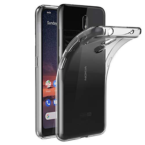 VGUARD Hülle Hülle Kompatibel für Nokia 3.2, Premium Transparent Tasche Schutzhülle Weiche TPU Silikon Gel Schutzhülle Hülle Cover für Nokia 3.2