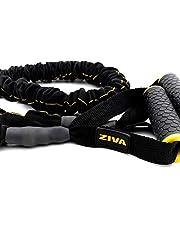ZIVA Unisex's Pro Resistance Tube-Extra Heavy, Zwart