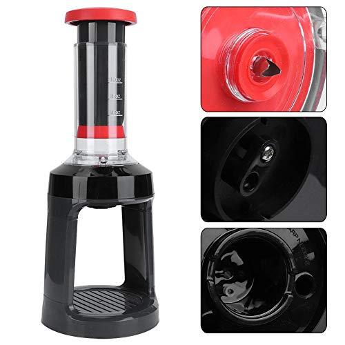 Dilwe1 Máquina de café Espresso ABS, máquina de café Manual para el hogar con Base...