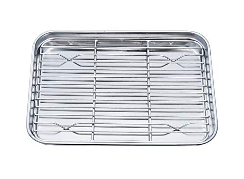 TeamFar Toaster Oven Pan Tray with...