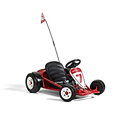 powerful Radio Flyer Ultimate Go-Kart, Outdoor Riding Toy, 24 V, 3-8 years old