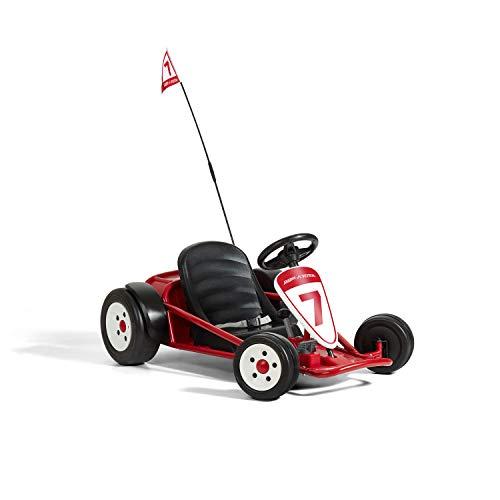 Radio Flyer Ultimate Go-Kart, 24 Volt Outdoor Ride On Toy | Ages 3-8 | 940Z Model , Red