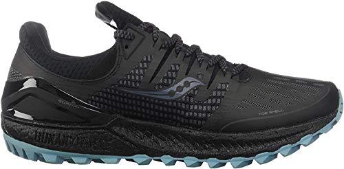 Saucony Xodus ISO 3, Zapatillas para Hombre, Gris (Gris Y Negro 3), 44 EU