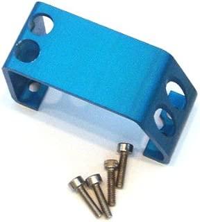 T-Maxx and E-Maxx Blue Anodized Steering Servo Cover