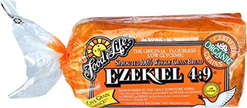 Food For Life Flourless Sprouted Grain Bread, Whole Grain, 24 oz (Frozen)