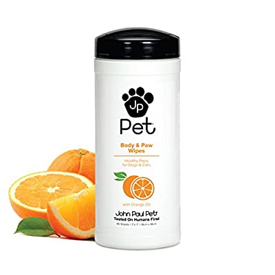 John Paul Pet, Pet Wipes for Dogs and Cats