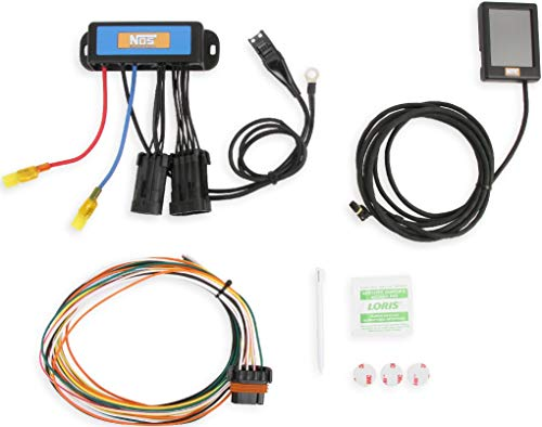BRAND NEW NOS MINI 2-STAGE PROGRESSIVE NITROUS CONTROLLER WITH TOUCH SCREEN PROGRAMMER,0-9.9 SECONDS PROGRESSIVE TIME