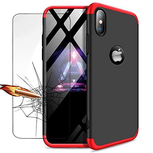 Funda iPhone SE,Funda iPhone 5 5S Ttimao PC Hard Case [Película de...