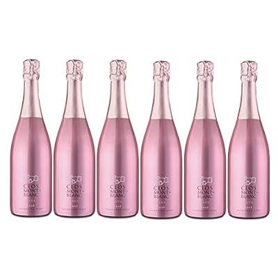 CLOS MONTBLANC Cava Brut Rosat - Spanish Sparkling Rosé Wine 75cl, Case of 6